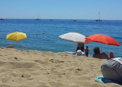 пляж для нудистов La Musclera