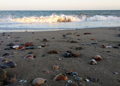 пляж для нудистов Platja Naturista