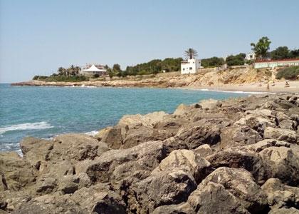 пляж для нудистов Playa Aiguadolç