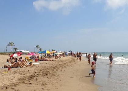 пляж нудистов El Prat de Llobregat