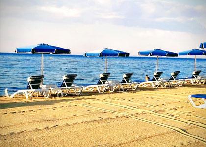 пляж нудистов La Musclera