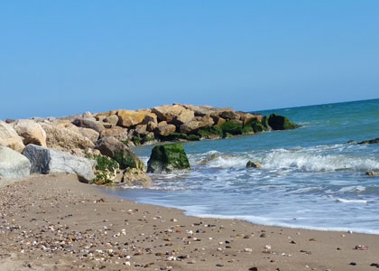 пляж нудистов Platja Naturista