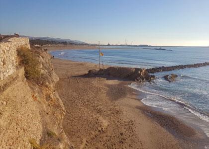 пляж нудистов Playa Aiguadolç