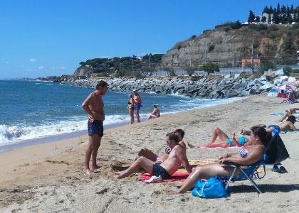 пляж нудистов la Picordia