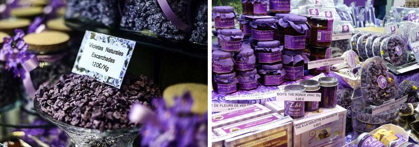 подарки из цветков фиалки