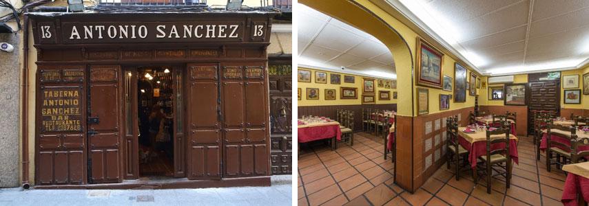 ресторан Taberna Antonio Sanchez