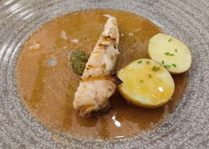 рыба в ресторане Cami Vell
