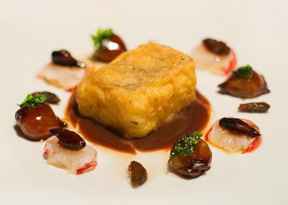 рыбное блюдо в Sergi Arola Gastro