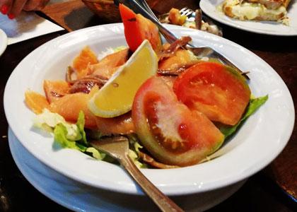 салат из Taberna Malaspina