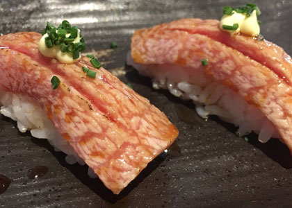 суши из суши-бара Nozomi