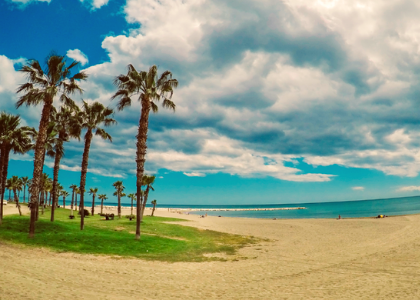 песок пляж
