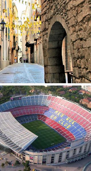 """Средневековая Жирона, Стадион FC Barcelona """"Камп Ноу"""""""
