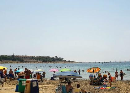 Пляжг Альмадраба пляж фото