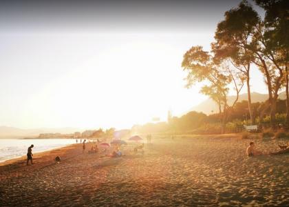 Вечер пляж Канина