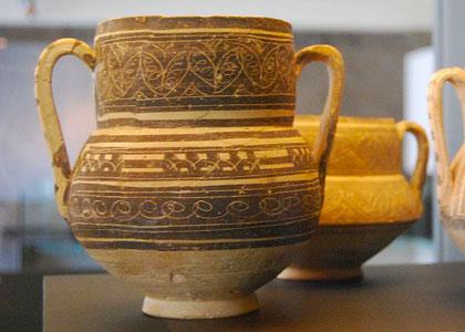 Антикварная посуда в музее «Ла-Альмойна»