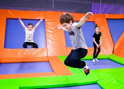 Батут в Fun Jump