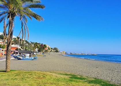 Песок на пляже Эль-Пало