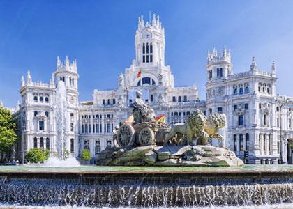 Фонтан Сибелес в Мадриде