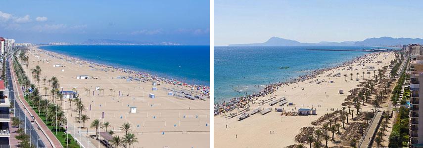 пляж Gandia