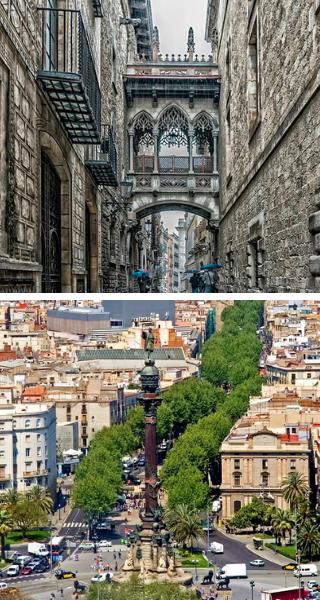 Готический квартал и Ла Рамбла