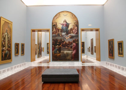 Картины в музее изящных искусств