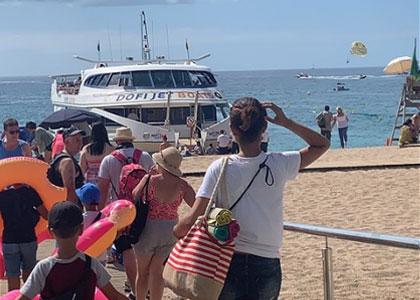 Корабельная экскурсия на пляже Льорет-де-Мар
