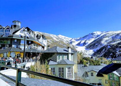 Курорт для горнолыжников Сьерра Невада