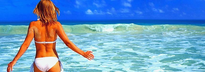 Лучшие пляжи Ибицы фото девушек