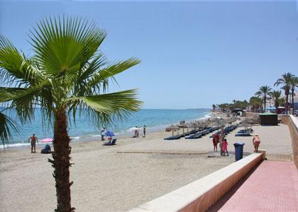 На пляже Агуадульсе
