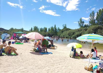 На пляже Альберче