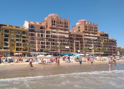 На пляже Альборайя