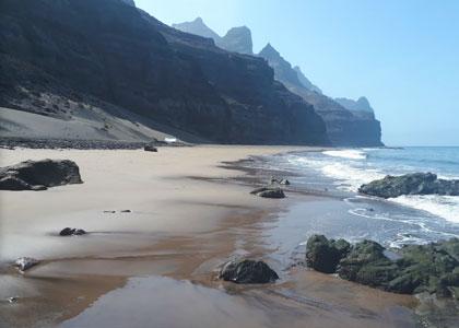 На пляже Gui-Gui
