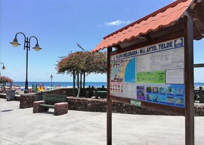 Набережная пляжа Меленара