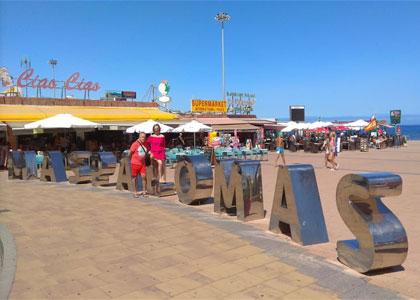 Набережная пляжа Плайя-дель-Инглес