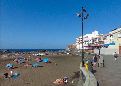 Набережная пляжа Пуэртилло