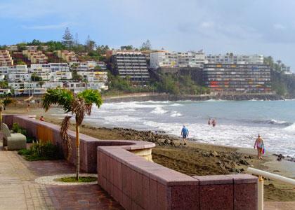 Набережная пляжа San Augustin