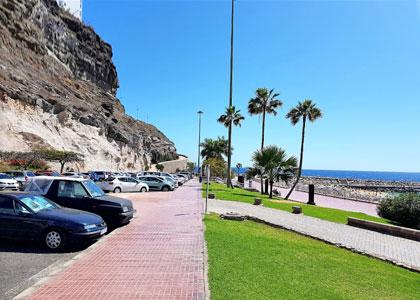 Парковка на пляже San Augustin