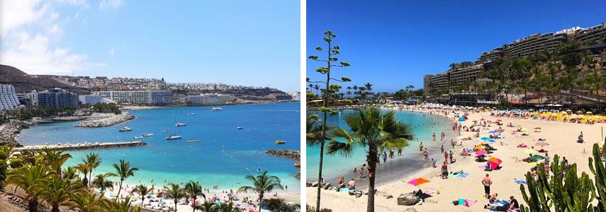 пляж Playa Anfi del Mar