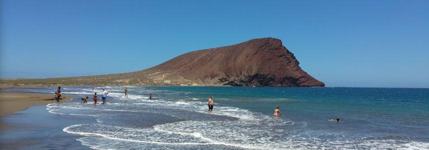 Playa de Montaña Roja