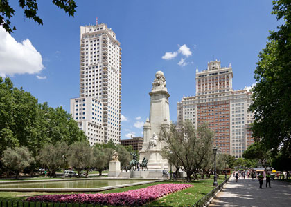 Площадь Испании в Мадриде