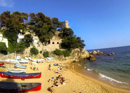 Пляж Canyelles