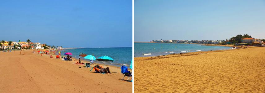 Пляж Эльс Молинс де Дения.