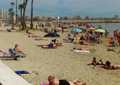 Пляж Лос-Науфрагос