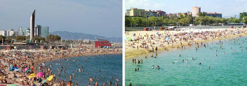 Пляж Нова-Икария Барселоны