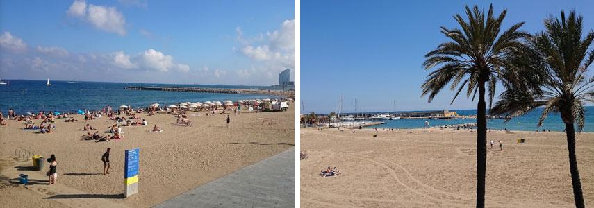 Пляж Соморростро Барселоны
