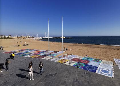 Пляж Соморростро в Барселоне