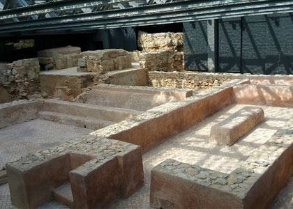 Раскопки в археологическом музее «Ла-Альмойна»