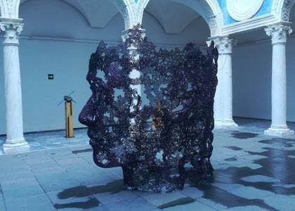 Скульптура в музее изящных искусств