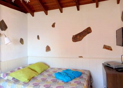 Спальня в La Casita de la Playa