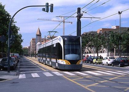 Трамвай в Валенсии